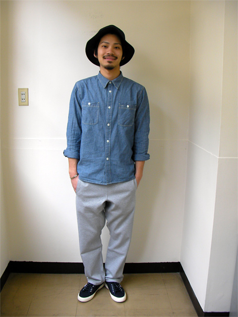 Five Brother Chambray Work Shirt