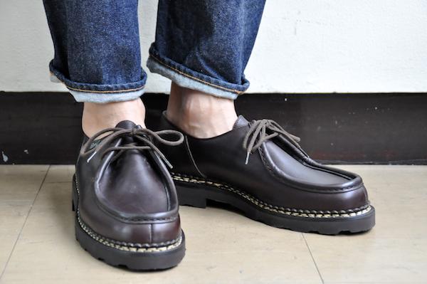 【脱スニーカー】パラブーツのミカエルで味わうタフな革靴 着こなし度ワンランクUPの定番~人気item