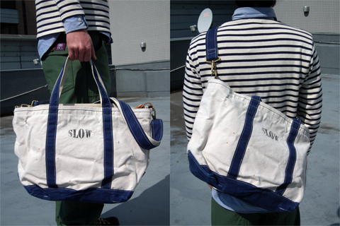 Slow(スロウ) 即売&受注会 Line Up ~ Works(tote Bag M Size Amp L Size