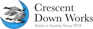 Crescent Down Works(クレセントダウンワークス)のロゴ